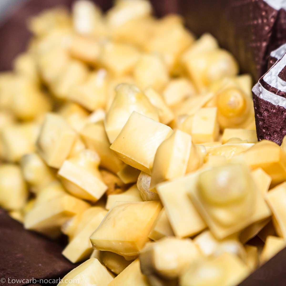 Keto Popcorn Cheese Pops