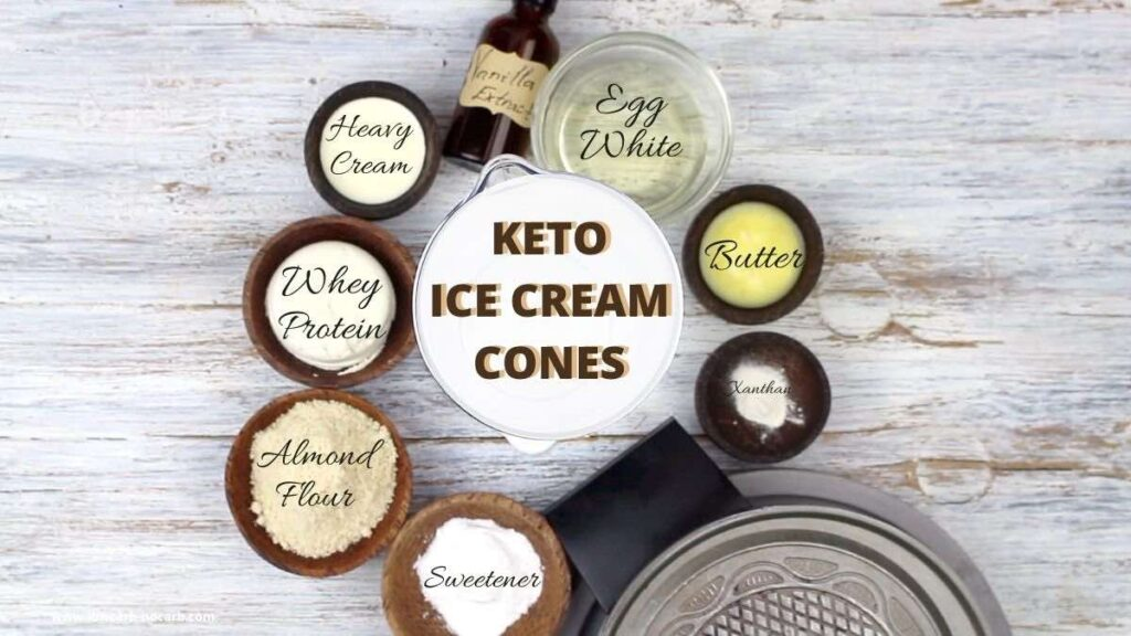 Waffle Cone Maker ingredients