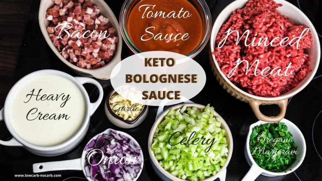 How to make Bolognese full Ingredients list