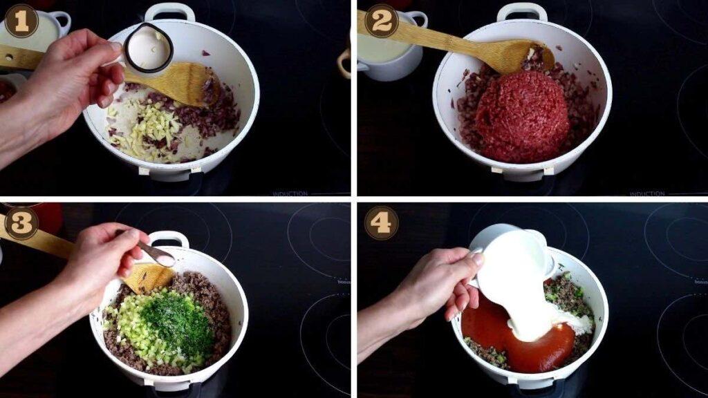 Zucchini Keto Snack cooking Keto Bolognese Sauce