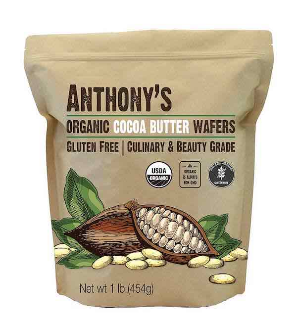 Cocoa Butter Wafers: Organic & Batch Tested Gluten-Free