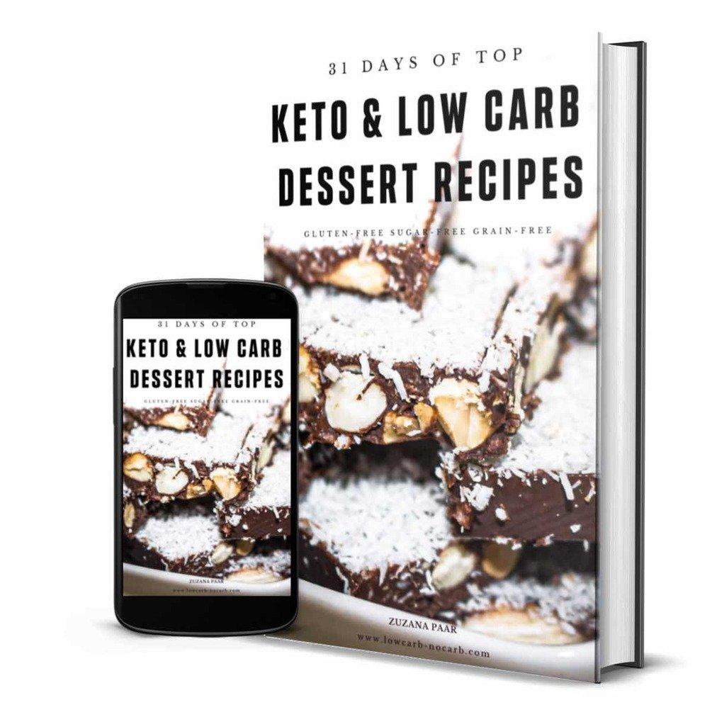 Keto Desserts E-Book