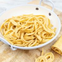 Low Carb Pasta Recipe in a bowl