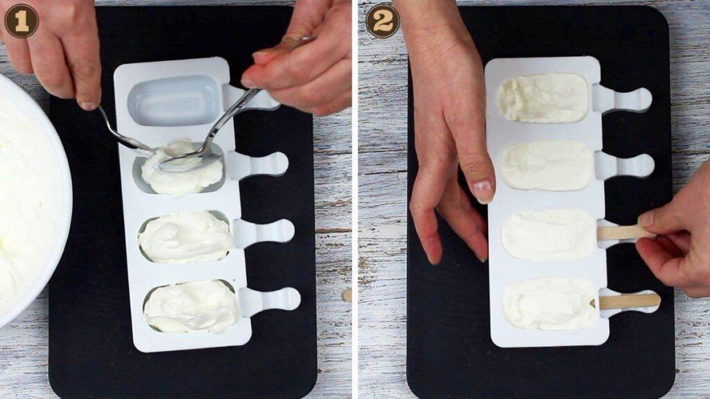 Healthy Yogurt Low Carb Popsicles