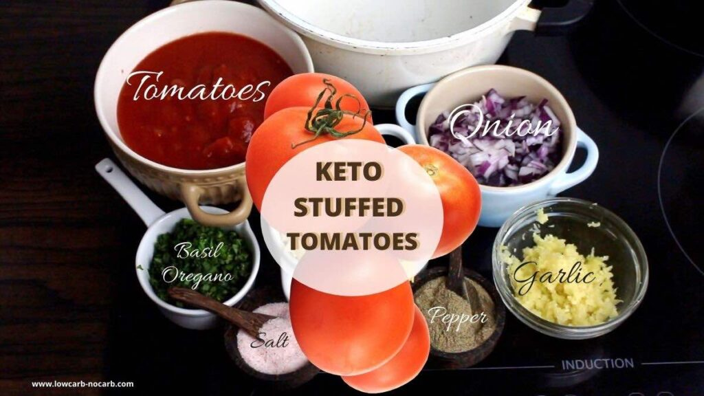 Baked Stuffed Tomatoes ingredients