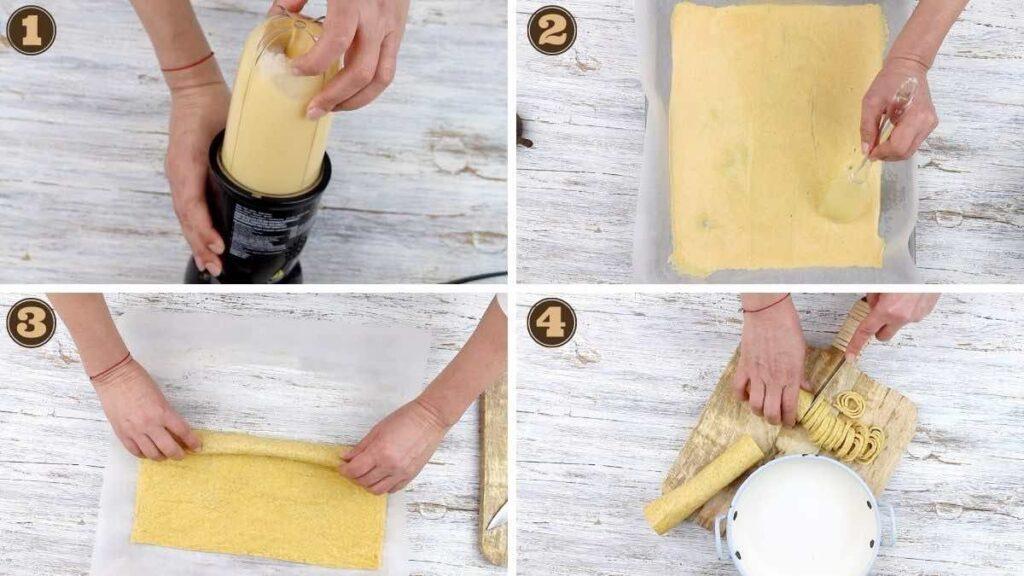 Keto Carbonara No Cream making Low Carb pasta