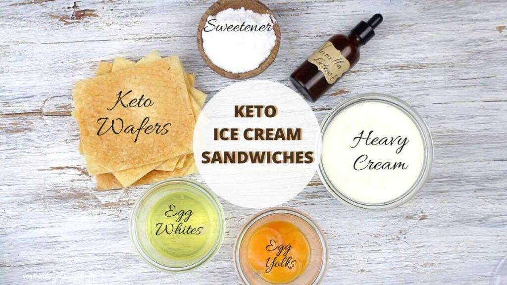 Diabetic Ice Cream Sandwich ingredients needed