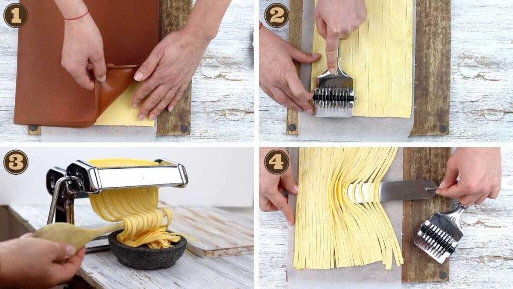 Easy Keto Fettuccine Alfredo with Homemade Noodles