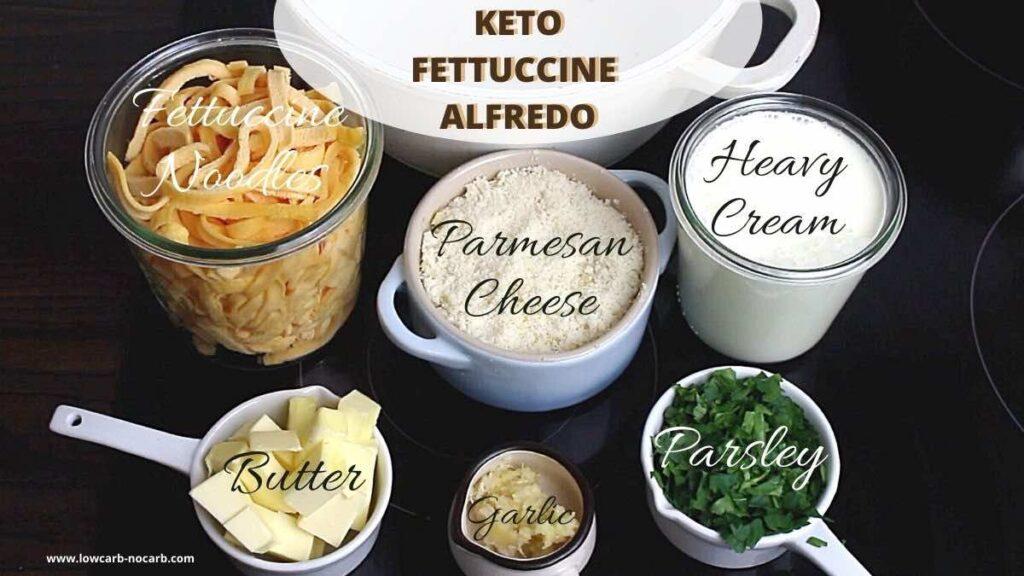 Alfredo Sauce with Heavy Cream ingredients needed