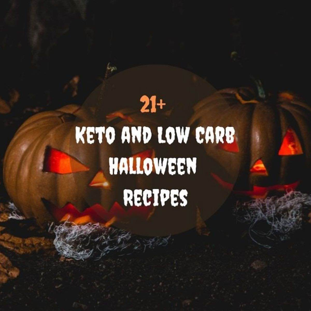 Low Carb Halloween Recipes to choose from