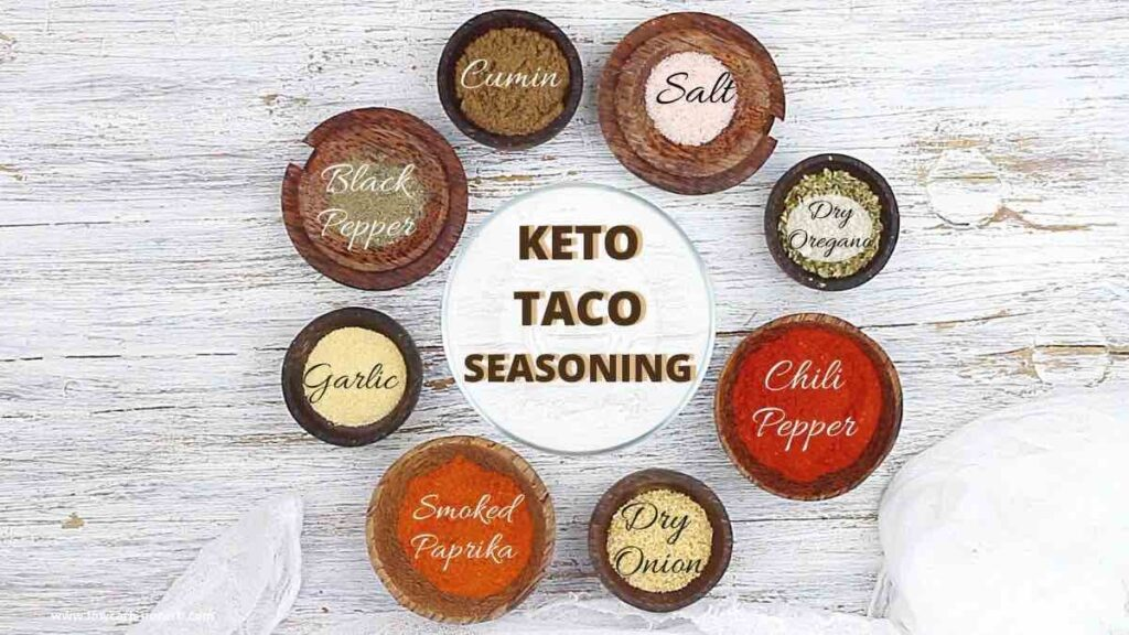 keto taco seasoning recipe ingredients needed