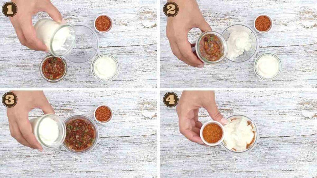 How To Make Salsa Dressing steps to follow
