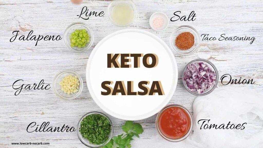 Sugar-Free Salsa ingredients needed